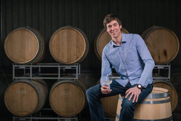 Flint Vineyard barrels